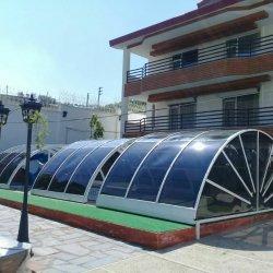 سایبان استخر پلی کربنات
